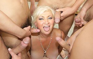 Free MILF Group Sex Porn Pictures